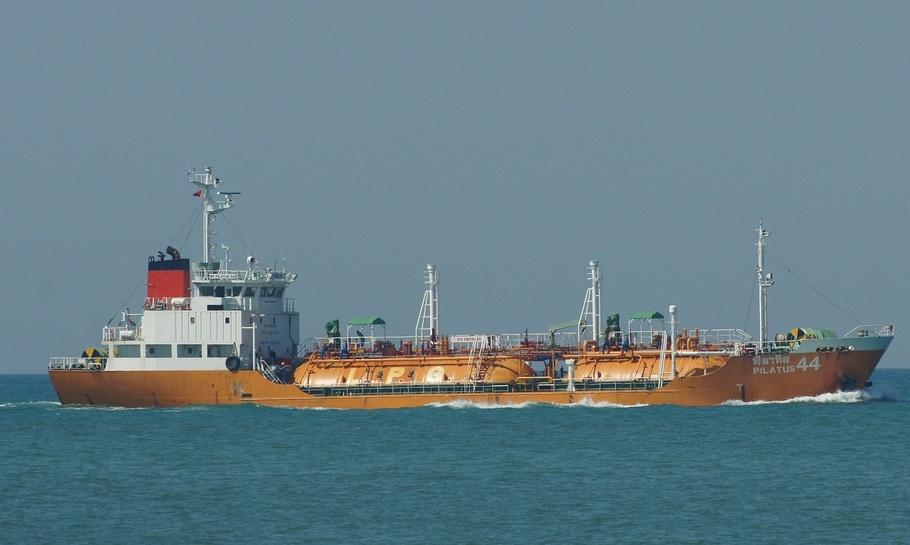 """Новость из морской отрасли « »Танкер """"PILATUS 44"""" протаранил рыболовное судно"""